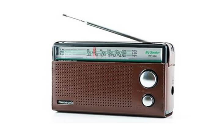 2 רדיו Panasonic דגם RF562