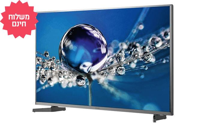 2 טלוויזיה חכמה HISENSE, מסך 50 אינץ' | משלוח חינם