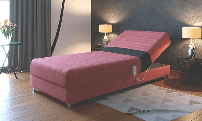 3 מיטה אורטופדית חשמלית RAM DESIGN מדגם לורינו