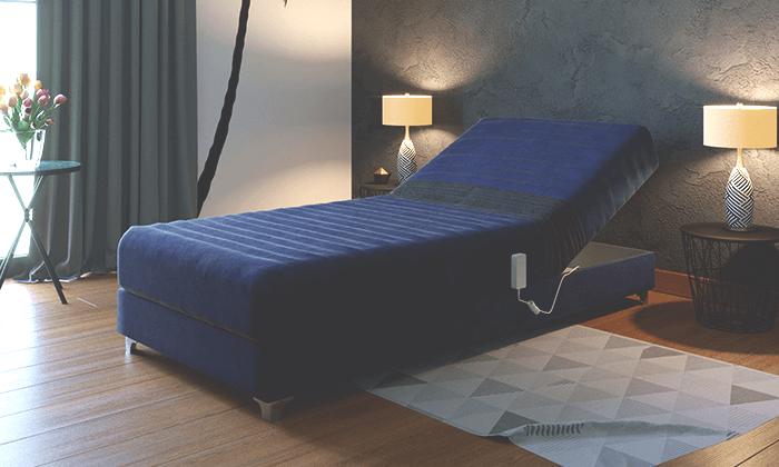 4 מיטה אורטופדית חשמלית RAM DESIGN מדגם לורינו