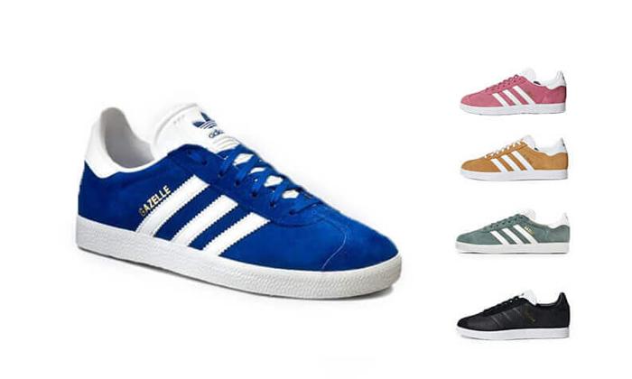 2 נעלי סניקרס adidas דגם Gazelle במבחר צבעים