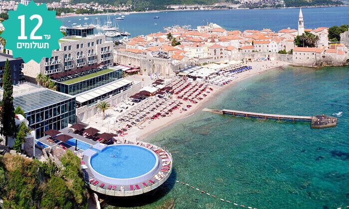 11 חופשה על חוף הים במונטנגרו - מלון מומלץ עם קזינו