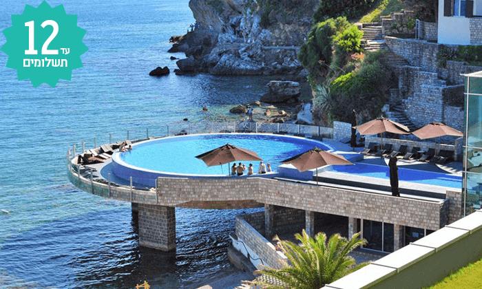 2 חופשה על חוף הים במונטנגרו - מלון מומלץ עם קזינו