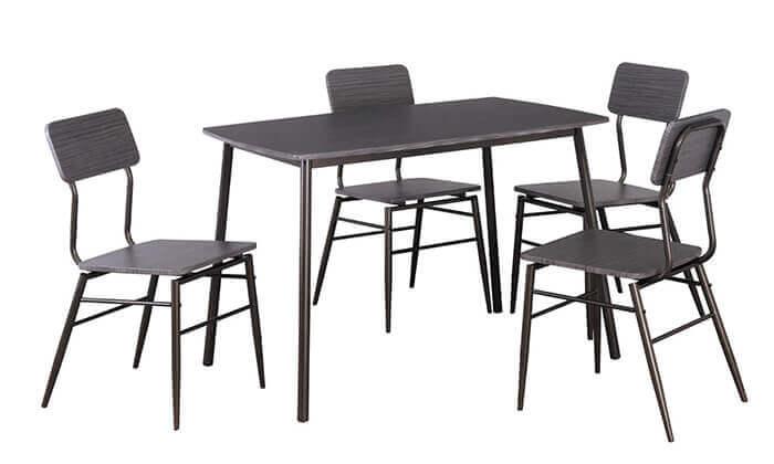 3 פינת אוכל מדגם 5147 עם 4 כיסאות