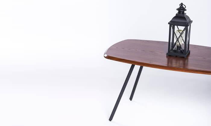 4 שולחן סלון מלבני דגם 7057