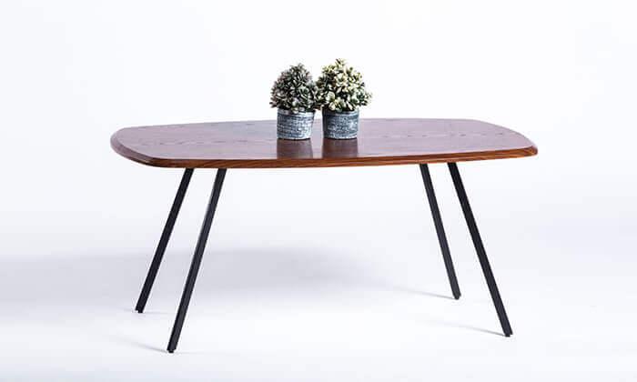 6 שולחן סלון מלבני דגם 7057