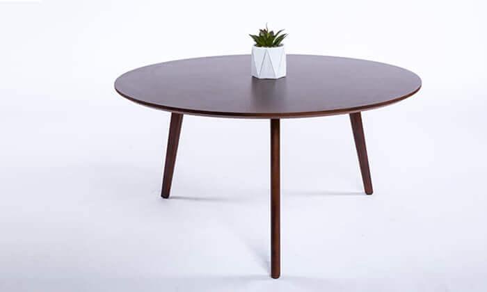 2 שולחן סלון עגול דגם 6807