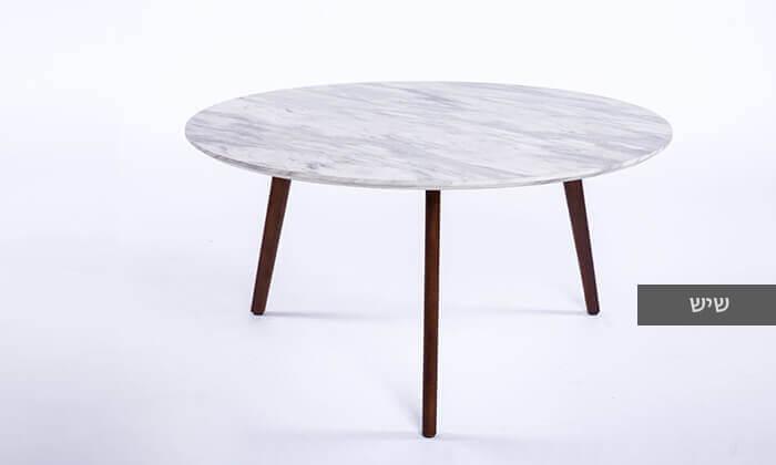 3 שולחן סלון עגול דגם 6807