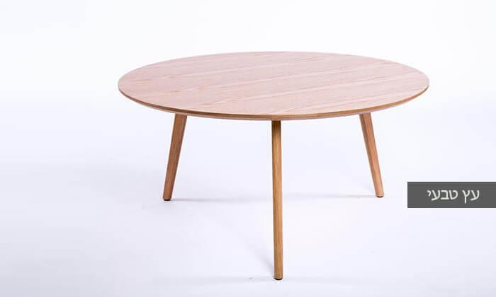 4 שולחן סלון עגול דגם 6807