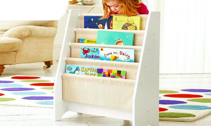 2 מדפי ספרים לחדר ילדים