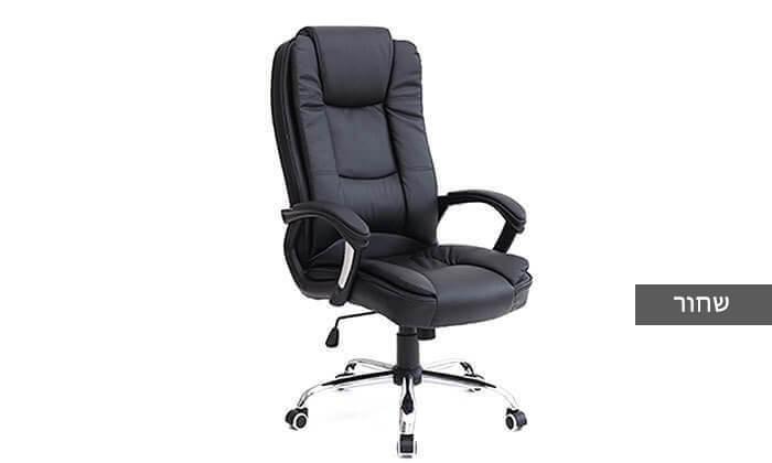 4 כיסא מנהלים עם מבנה ארגונומי