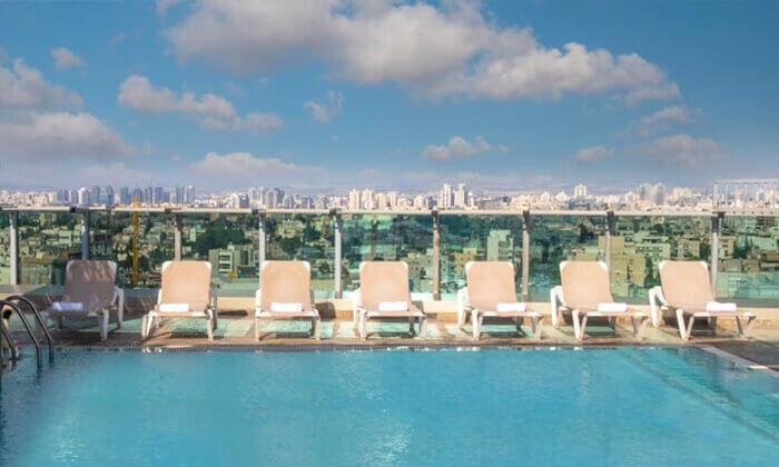 10 יום כיף - מלון רימונים טאואר, רמת גן