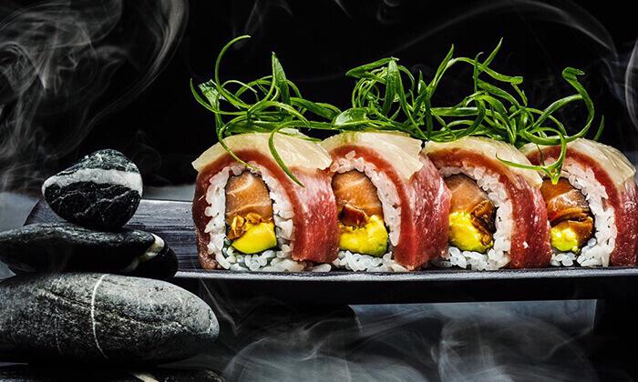 5 ארוחה אסייתית זוגית כשרה בטייק אוויי או משלוח ממסעדת NUCHI, תל אביב