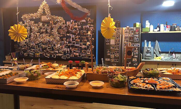3 ארוחה אסייתית כשרה ל-10 סועדים ממסעדת נגיסה, תל אביב