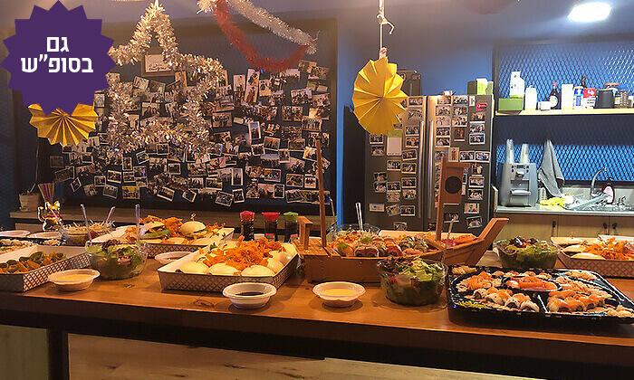 3 ארוחה אסייתית כשרה ל-10 סועדים ב-T.A או משלוח ממסעדת NUCHI, תל אביב