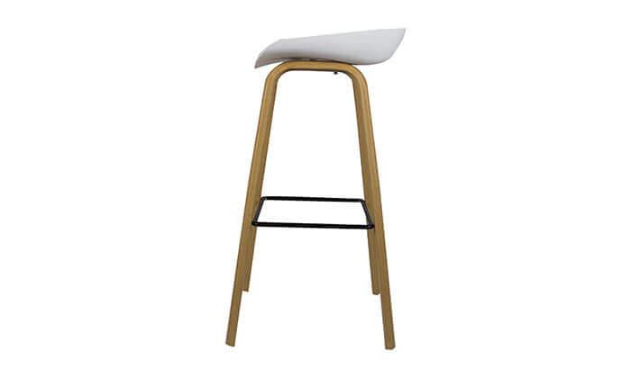 7 כיסא בר בעיצוב סקנדינבי נמוך