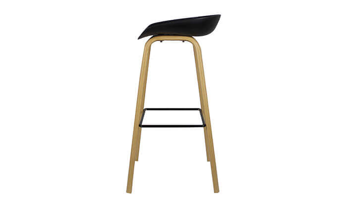 8 כיסא בר בעיצוב סקנדינבי נמוך