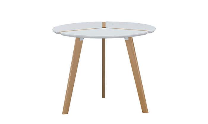 3 שולחן פינת אוכל עגול