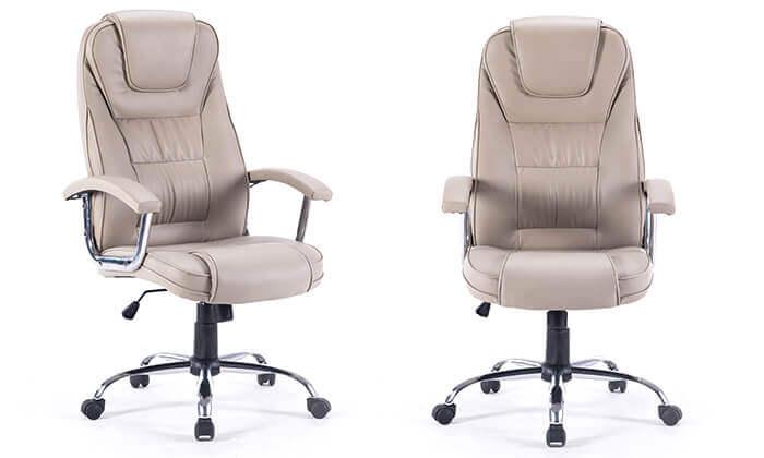 2 כיסא מנהלים משרדי