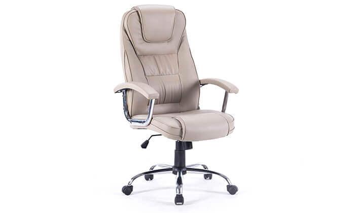 4 כיסא מנהלים משרדי