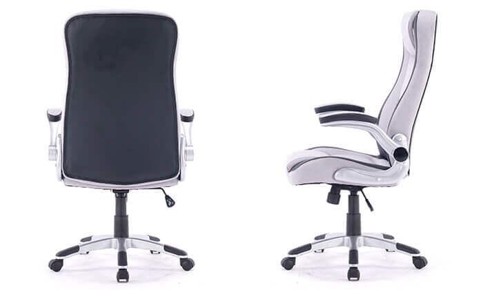 4 כיסא מנהלים מרופד