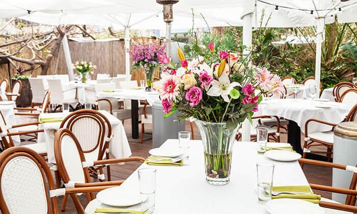 8 ארוחה זוגית צמחונית במסעדת באבא יאגה, תל אביב
