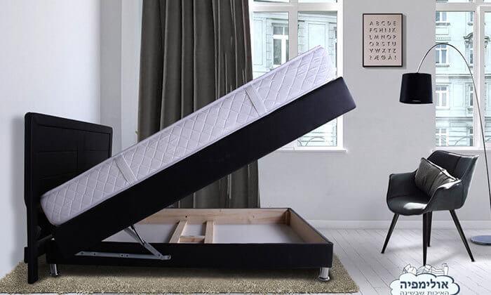 3 מיטה מעץ מלא, כולל מזרן אורתופדי תואם