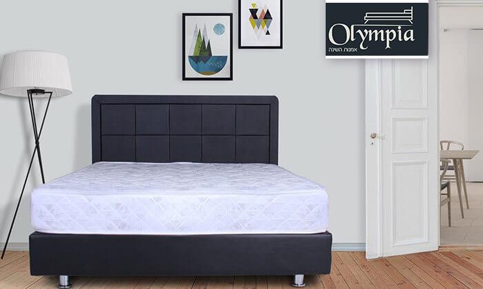 2 מיטה מעץ מלא, כולל מזרן אורתופדי תואם
