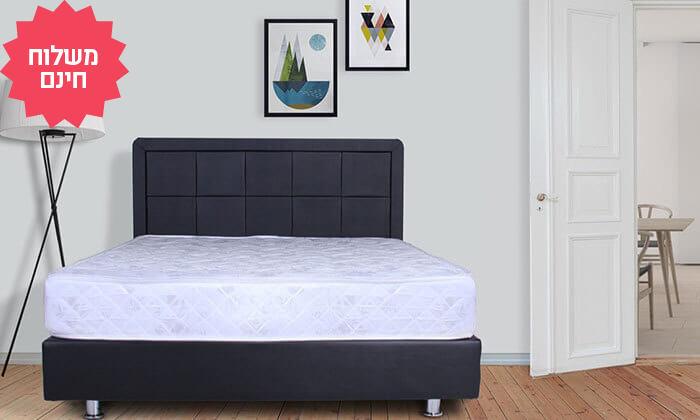 5 מיטה מעץ מלא, כולל מזרן אורתופדי תואם