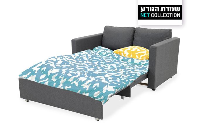 2 שמרת הזורע: ספה נפתחת למיטה דגם סמבה