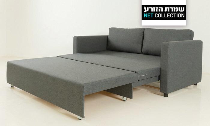 2 שמרת הזורע: ספה נפתחת למיטה דגם סמבה בשני גדלים לבחירה