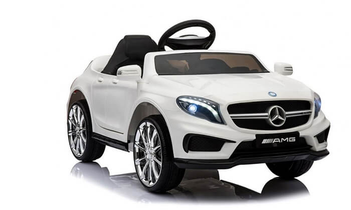 2 מכונית מרצדס צעצוע לילדים
