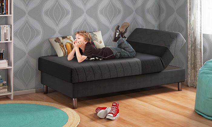 10 שמרת הזורע: מיטת נוער מתכווננת דגם סבבה