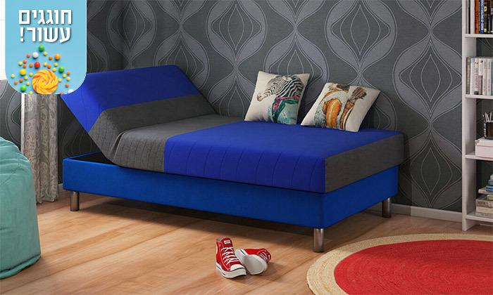 5 שמרת הזורע: מיטת נוער מתכווננת דגם סבבה