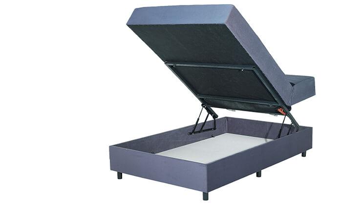 4 מיטה אורתופדית ברוחב וחצי דגם רם