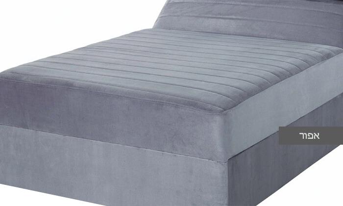 6 מיטה אורתופדית ברוחב וחצי דגם רם