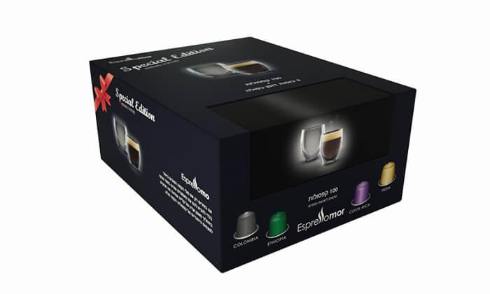 2 קפסולות קפה תואמות Nespresso