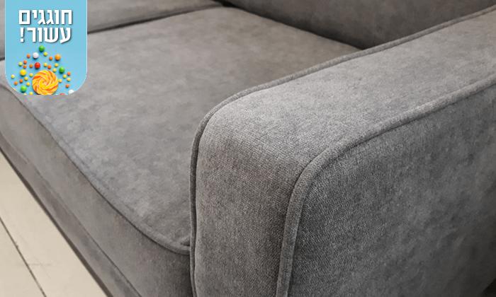 7 שמרת הזורע: ספה פינתית נפתחת למיטה דגם זולה