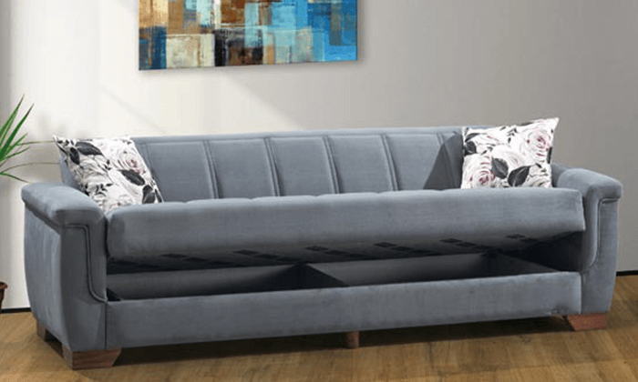 3 ספה נפתחת למיטה דגם אופק של LEONARDO