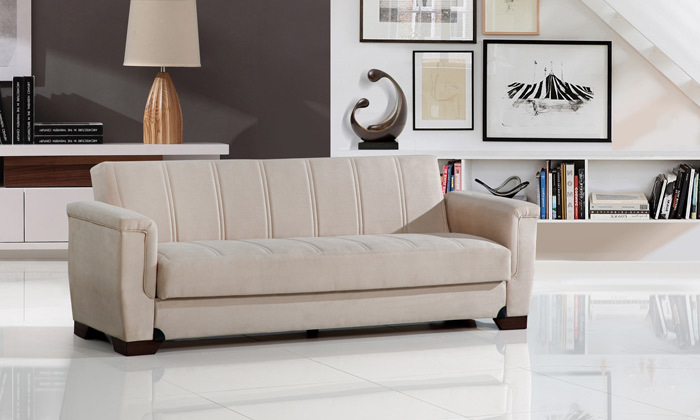 7 ספה נפתחת למיטה דגם אופק של LEONARDO