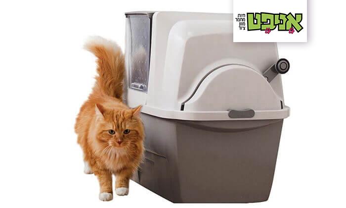 2 שירותים אוטומטיים לחתול סמארט סיפט