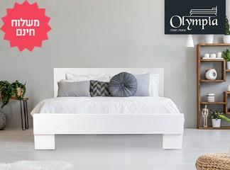 מיטת אולימפיה עם מזרן