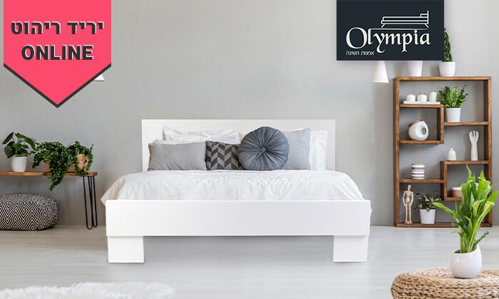 2 מיטת אולימפיה עם מזרן   הובלה והרכבה חינם