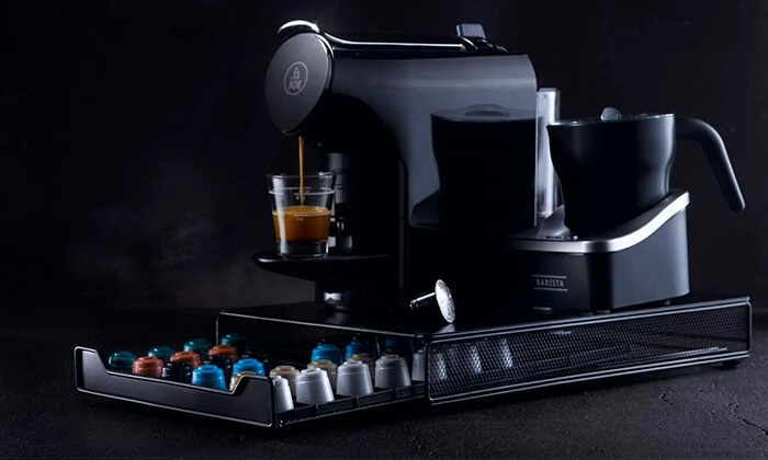 4 מארז של 500 קפסולות Time Capsules ומכונת קפה במתנה