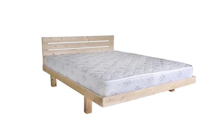 3 מיטה מעץ מלא