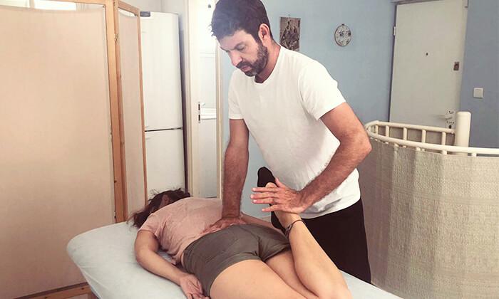 2 טיפול שיאצו אצל אמיר מינץ, תל אביב