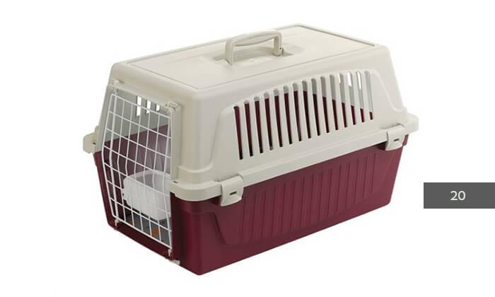 4 כלוב נשיאה-הטסה לחתולים וכלבים