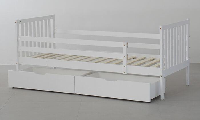 4 מיטת ילדים דגם Botega עם מגירות אחסון