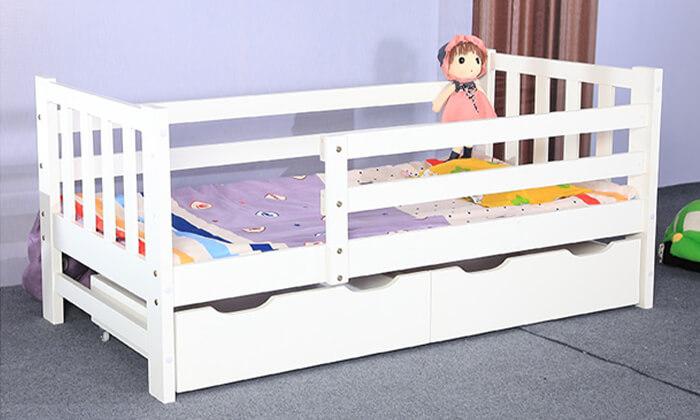 5 מיטת ילדים דגם Botega עם מגירות אחסון