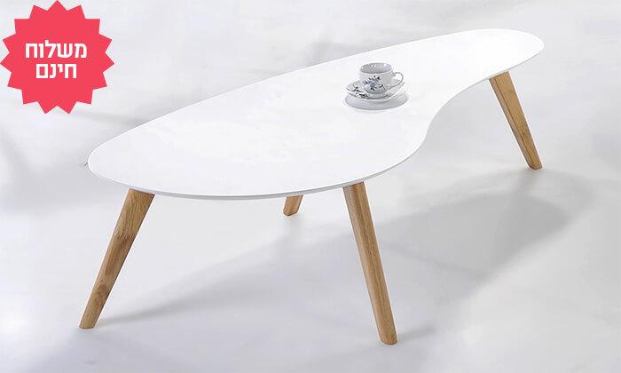 3 שמרת הזורע: שולחן סלון מעוגל